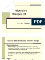 Configuration Management Process Training