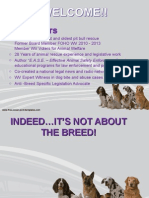 Indeed...It's Not About the Breed