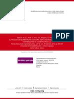 El Proceso de Sedimentación Como Una Aplicación Sencilla Para Reducir Contaminantes en Efluentes Tex