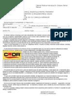 Formular Acord Pacient