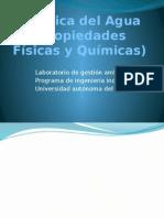Quimica Del Agua Laboratorio de Gestion Ambiental