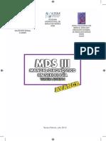 Manual MdsIII Espanol