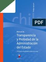 Manual de Transparencia y Probidad