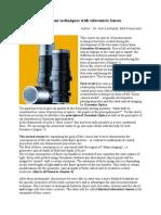 SchneiderKreuznach Optical Measurement Techniques With Telecentric Lenses