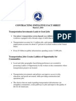 USDOT Local Hire Fact Sheet