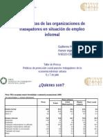 PresPROPUESTAS DE LAS ORGANIZACIONES DE LA ECONOMIA INFORMAL DEL PERU