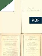151908093 Obras de San Buenaventura Tomo I