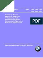 Bmw 2002 Manual Azul TALLER ESPAÑOL