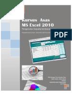Kursus Asas MS Excel 2010
