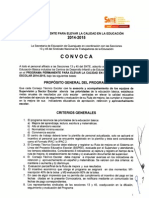 Convocatoria IPAC