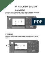 Manual Impresora Ricoh