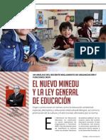 El Nuevo Minedu y Ley General de Educación