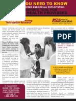 ASU STIR Mental Health Brochure