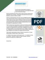 Osmosis Peru Presentacion de Equipo Domestico