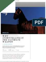 WhyStorytellingIsTheUltimateWeapon Co.create Creativity Culture