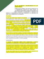 1- El Delito de Abuso de Autoridad e Incumplimiento de Los Deberes de Funcionario Público