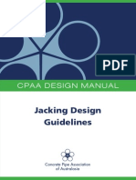 Jacking Pipe Design