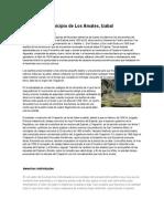 Historia Del Municipio de Los Amates