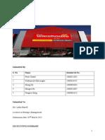 The Warehouse Statergy Analysis