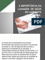 A IMPORTÂNCIA Da lavagem  de MÃOS NO AMBIENTE.pptx