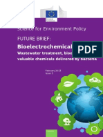 Brief on Bioelectrochemical Systems