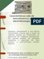 Caracteristicas Sala de Hemodinamia