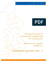 Lineamientos generales SABER 11 2014 -2.doc