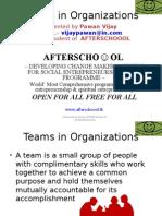 Teams in Organization