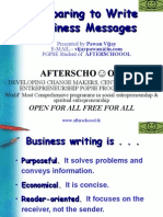 Write Business Messages