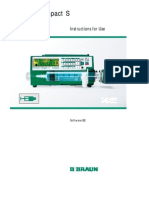 B.braun Perfusor Compact S - User Manual