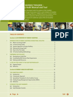 Energy Audit Manual and Tool