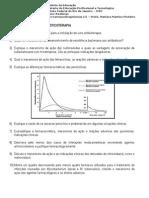 Estudo Dirigido de Antimicrobiano
