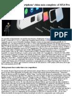 MEIZU Lanza El -Smartphone- Chino Más Completo, El MX4 Pro.