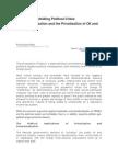 Geopolitica y Petroleo, Porque Privatizar Pemex