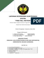 Laporan Eksperimen Fisika ELektronika digital