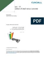 Embodied Carbon Versus Steel v Concrete Buildings