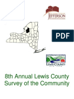 8th Annual Lewis County Survey of the Community