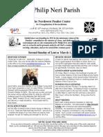 Mar 1 Bulletin