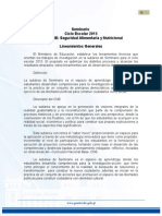 Lineamientos de Seminario 2015 Seguridad Alimentaria_sesan_sincontrolcambios