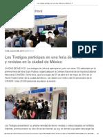 Los Testigos Participan en Una Feria Editorial en México D. F