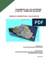 Modelo Hidrogeológico Conceptual Ica