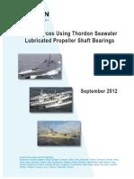 Naval Forces Using Thordon