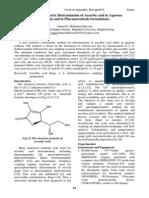 determinación ácido ascorbico