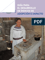 Guia para el desarrollo de indices de adopcion e impacto