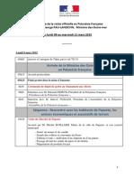 Programme George PAU-LANGEVIN - 03-03-2015