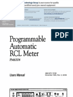 Programmable Automatic RCL Meter - Pm6304
