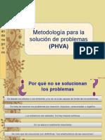 Metodología para la solución de problemas