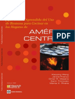 Qué Hemos Aprendido del Uso de Biomasa para Cocinar en los Hogares de AMÉRICA CENTRAL