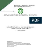 Estadística en La Experimentación y Evaluación