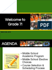 Grade 7 Course Information SY1516